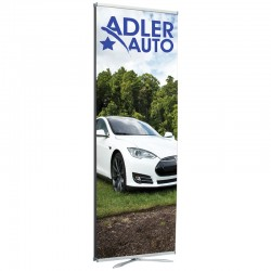"""Florence 31.5"""" Wide Banner Stand"""