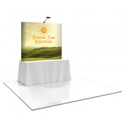 6'W x 5'H Straight Pop Up Trade Show Display