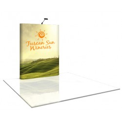 6'W x 8'H Straight Pop Up Trade Show Display
