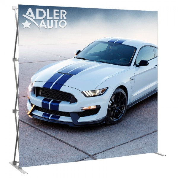 8FT Wide Straight Trade Show Display