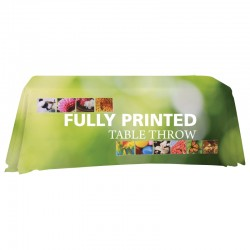6 Ft Economy Trade Show Tablecloth