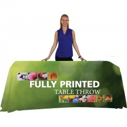 6 Ft Trade Show Tablecloth