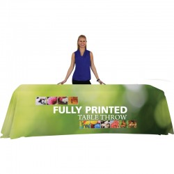 8 Ft Trade Show Tablecloth