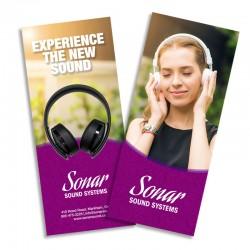 11 x 25.5 Full Colour Brochures