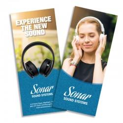8.5 x 11 Full Colour Brochures
