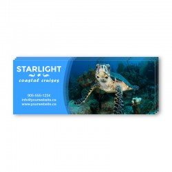5.5 x 2.12 Single Sided Full Colour Postcards