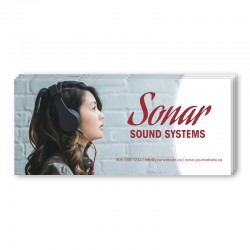 4 x 9 Single Sided Full Colour Postcards