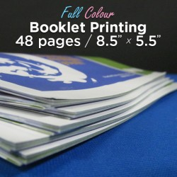 48 Page, Full Colour, 5.5x8.5 Booklets
