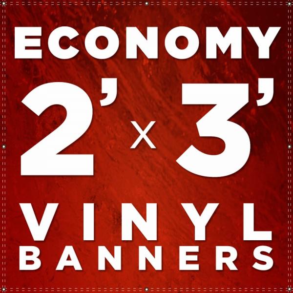 2' x 3' Vinyl Banner