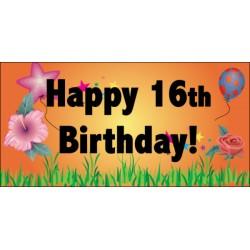 Custom Birthday Banner #2