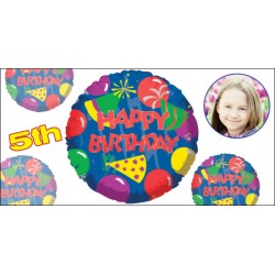 Custom Kids Birthday Banner #7