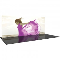 20' Straight Fabric Display