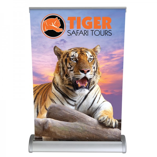 """Breeze 17"""" Tabletop Banner Stand"""