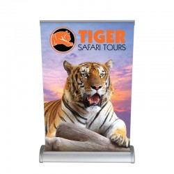 """Breeze 13"""" Tabletop Banner Stand"""