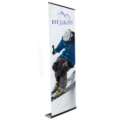 """Elevate 33.25""""w x 8' high  Retractable Banner Stand"""