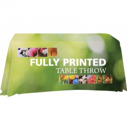 4 Ft Economy Trade Show Tablecloth