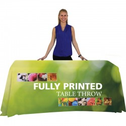 4 Ft Trade Show Tablecloth