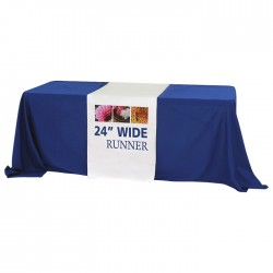 "24"" Trade Show Table Runner"