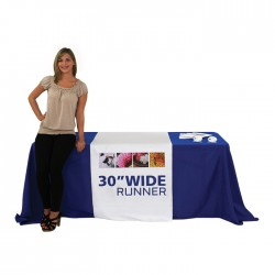 "30"" Economy Trade Show Table Runner"