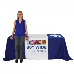 "30"" Trade Show Table Runner"