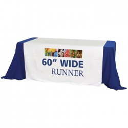 "60"" Trade Show Table Runner"