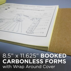 8.5 x 11.625 – Booked Carbonless Forms
