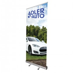 "Cheap Retractable Banner Stand 33""w x 79""h"