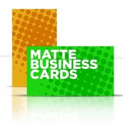"2"" x 3.5"" Matte Business Cards"