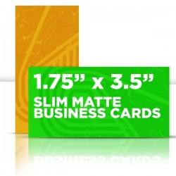 "1.75"" x 3.5"" Matte Business Cards"