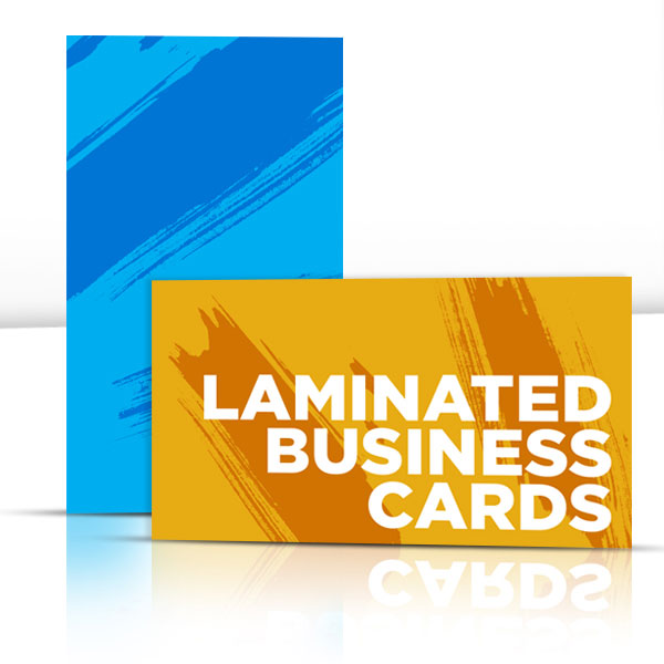 "2"" x 3.5"" Silk Laminated Business Cards"