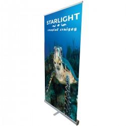 "Econo-Tough - 39""w x 85""h  Retractable Banner Stand"