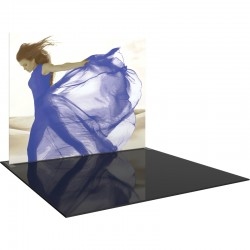 10FT Straight Fabric Trade Show Display