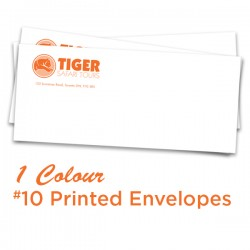 1 Colour #10 Printed Envelopes