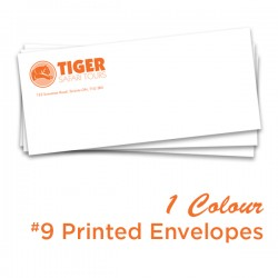 1 Colour #9 Printed Envelope