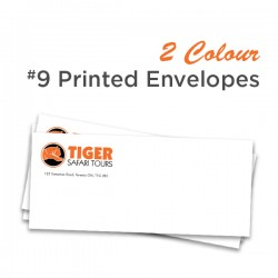 2 Colour #9 Printed Envelope