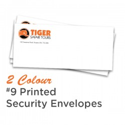 2 Colour #9 Printed Security Envelope