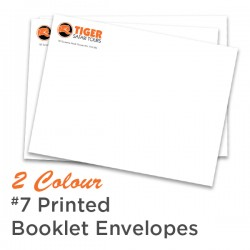 2 Colour #7 Printed Booklet Envelope