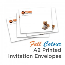 Full Colour A2 Printed Invitation Envelope