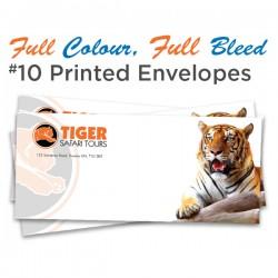Full Colour, Full Bleed #10 Printed Envelopes