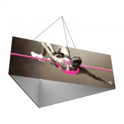 10' Triangle x 3'h Hanging Ceiling Banner