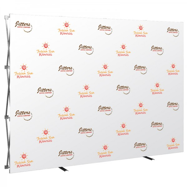 10FT Wide Step & Repeat Media Wall