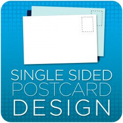 Post Card Graphic Design -  Single Sided