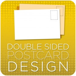 Post Card Graphic Design -  Double Sided