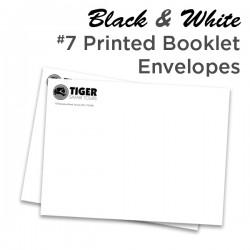 B&W #7 Printed Booklet Envelope