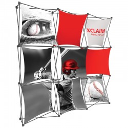 7.5FT Wide Multi-Panel Fabric Trade Show Display Kit 1