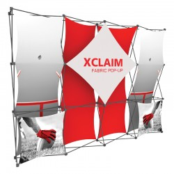 10FT Wide Multi-Panel Fabric Trade Show Display Kit 1