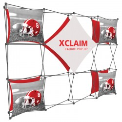 10FT Wide Multi-Panel Fabric Trade Show Display Kit 2