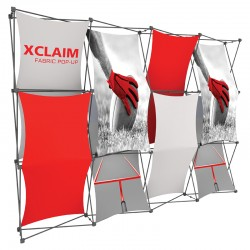 10FT Wide Multi-Panel Fabric Trade Show Display Kit 3