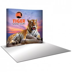 8'W x 8'H Serpentine Pop Up Trade Show Replacement Panels