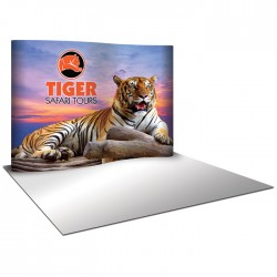 10'W x 8'H Serpentine Pop Up Trade Show Replacement Panels